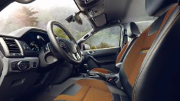 interno Ford Ranger Wildtrack